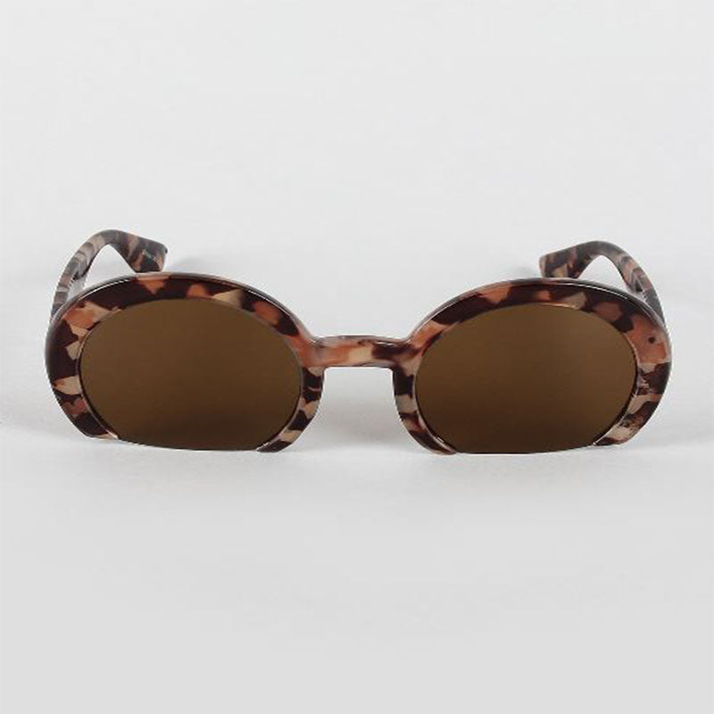 Chopped Round Sunglasses