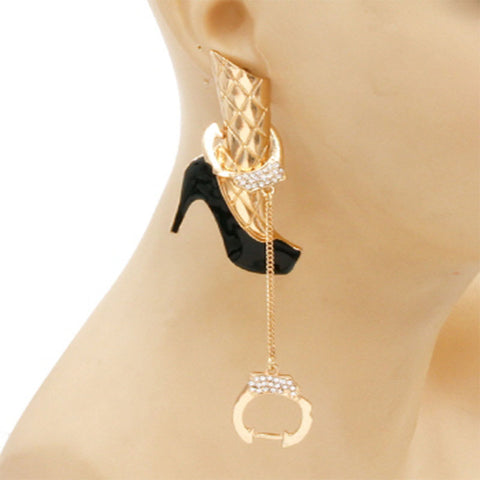 Chain Twisted Earring
