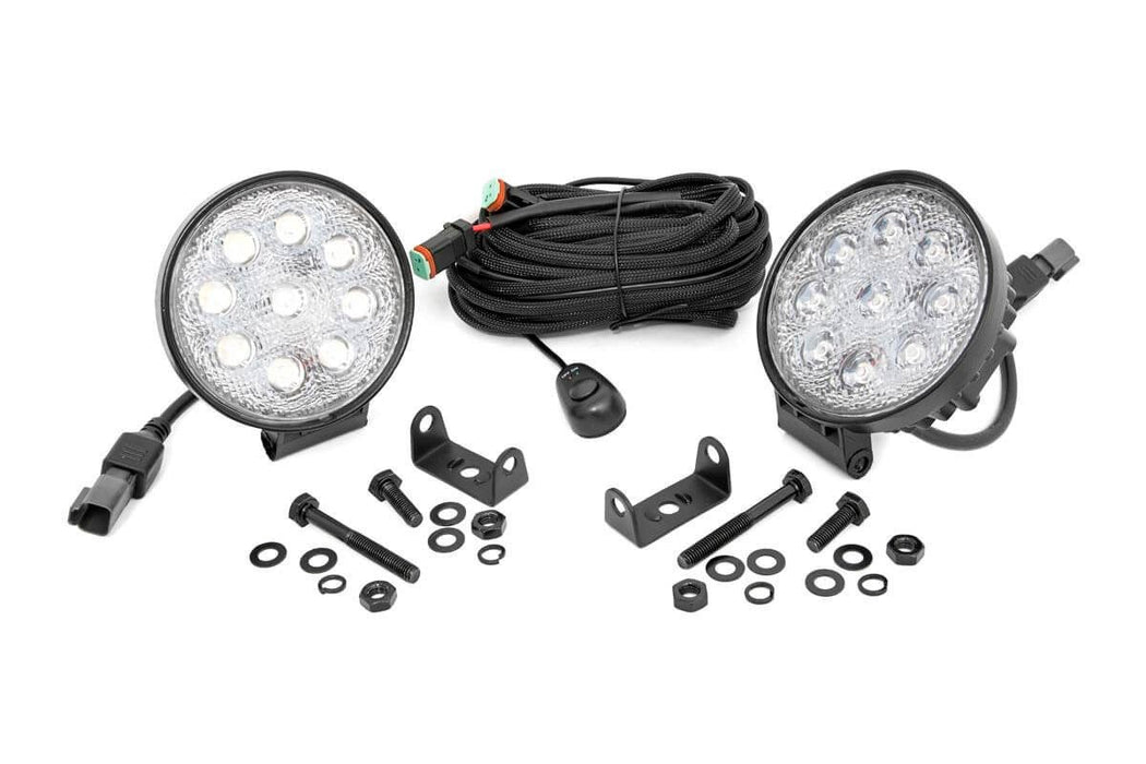 4-inch LED Round Lights