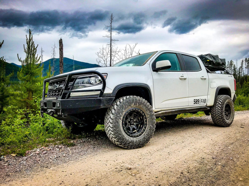 """Chevy Colorado Accessories >> 1"""" ZR2 Leveling Kit Package (17+ Colorado ZR2) – 589 ..."""