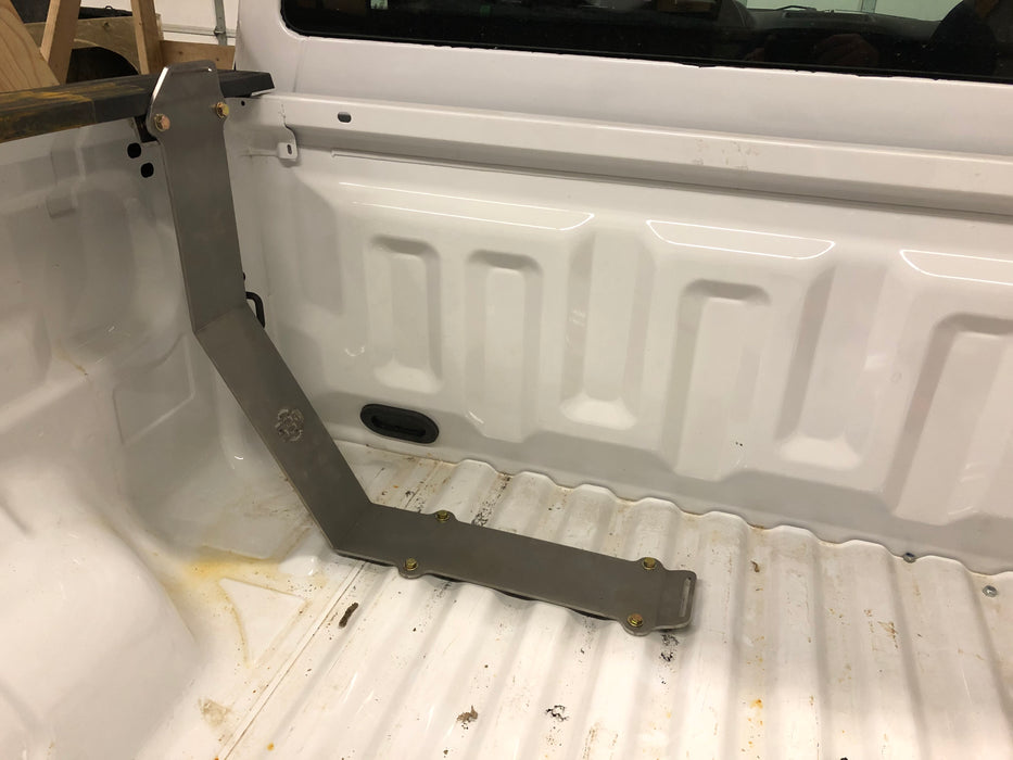 Bed-Mounted Spare Tire Carrier