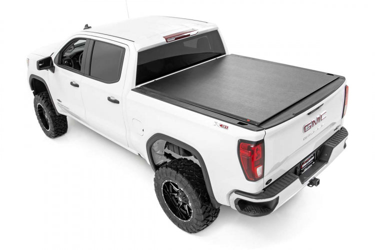 "GM Soft Roll-Up Bed Cover (19-21 Silverado/Sierra 1500 - 5' 8"" Bed)"