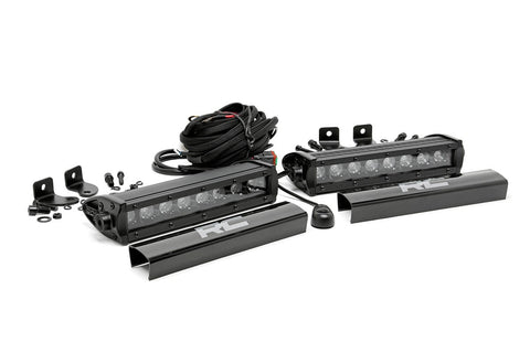 8-inch Cree LED Light Bars (Pair | Black Series)