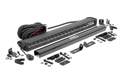 Ford 20in LED Bumper Kit (19-20 Ranger) | Black Series