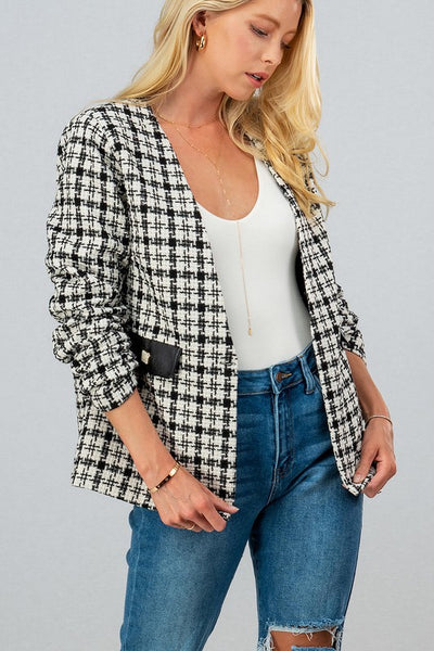 Tweed Trendy Blazer