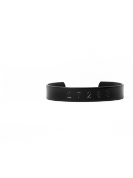 Womens Countless Band Matte Black