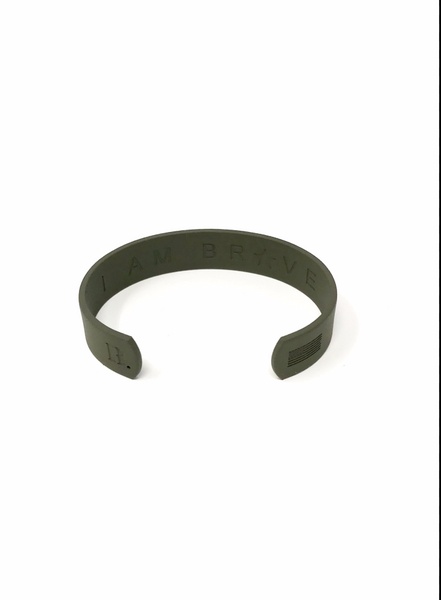Womens Countless Band Matte Green