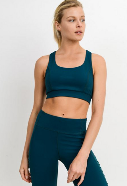 Suspended X Racerback Sports Bra - ShopTheCue