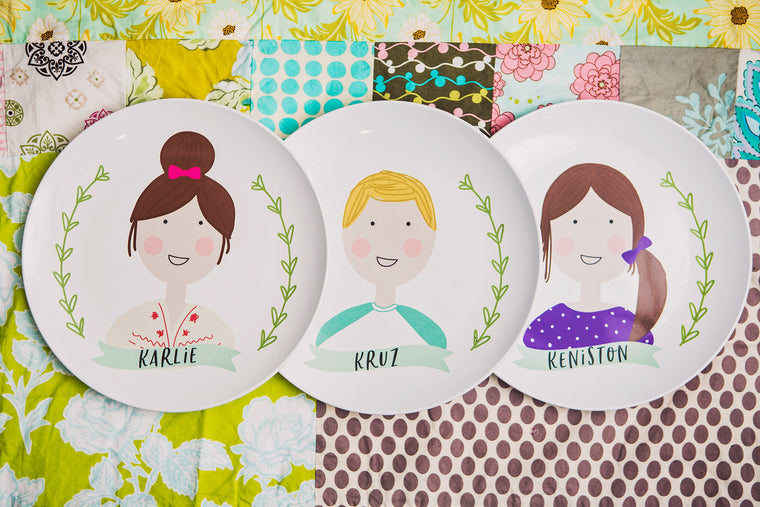 The Personalized People Plate