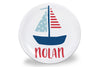 Sailboat Personalized Plate