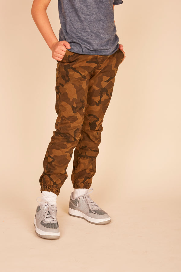 TWILL JOGGER JEANS