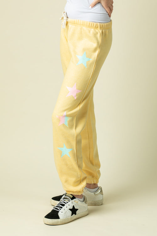 BUTTER BURNOUT SWEATPANTS