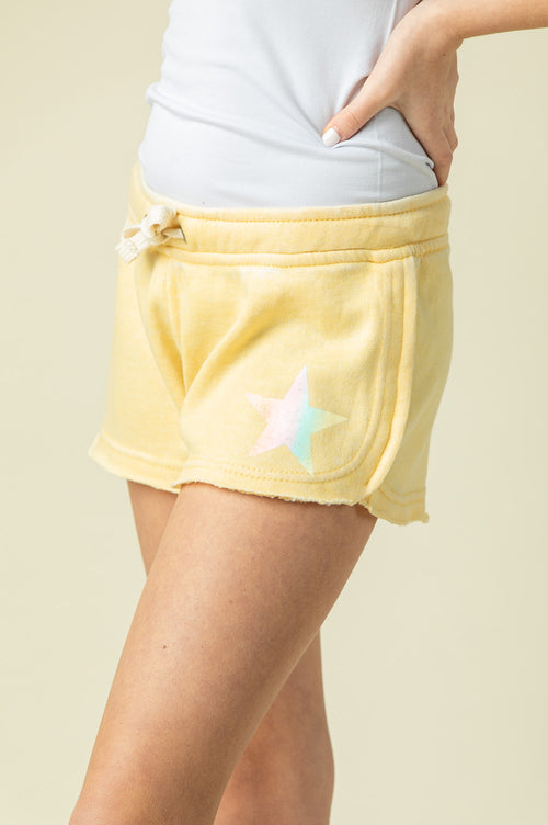 BUTTER BURNOUT SHORTS