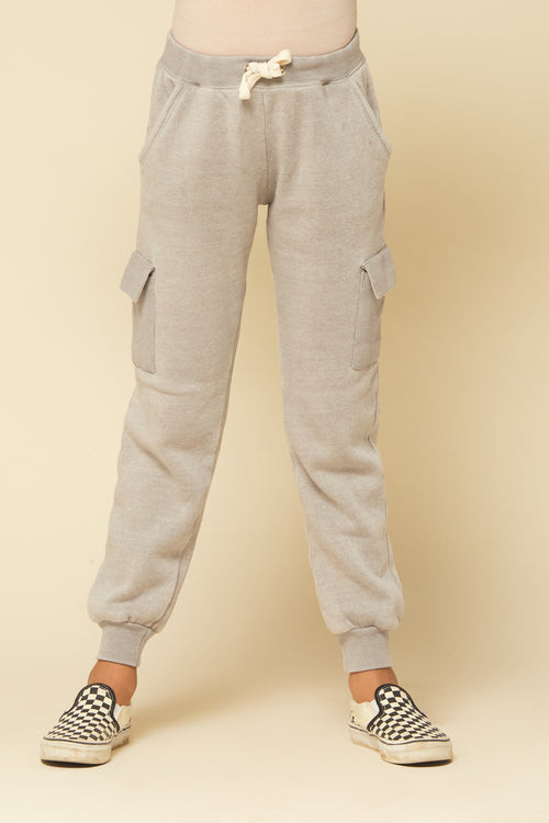MINKY TAUPE CARGO PANT