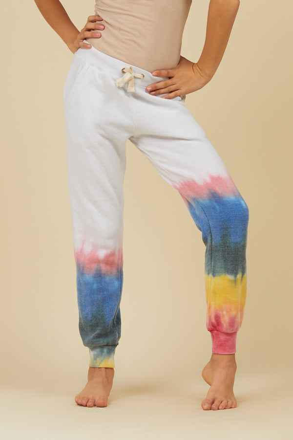 ELECTRIC DIAGONAL SWEATPANTS