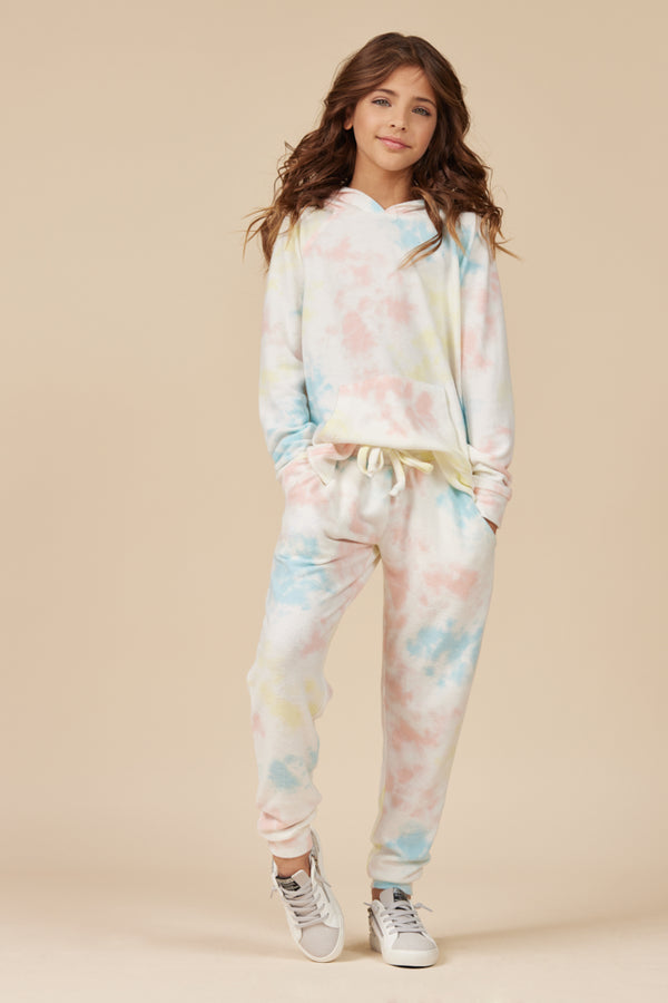 SUNKISSED TIE DYE HACCI JOGGER