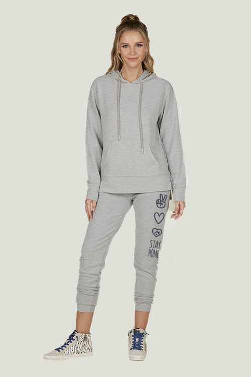 Peace, Love, Stay Home New Hacci Jogger