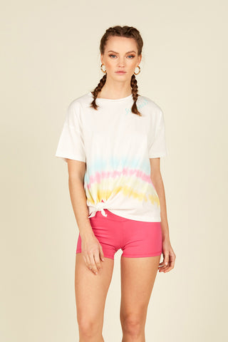 Light Blue Dip Dye Top