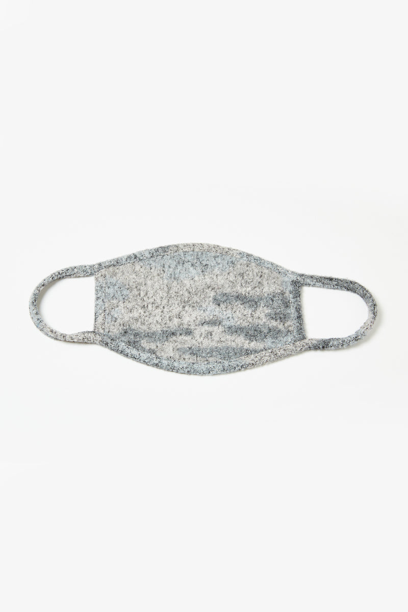 Grey Camo Face Mask - 3 Pack