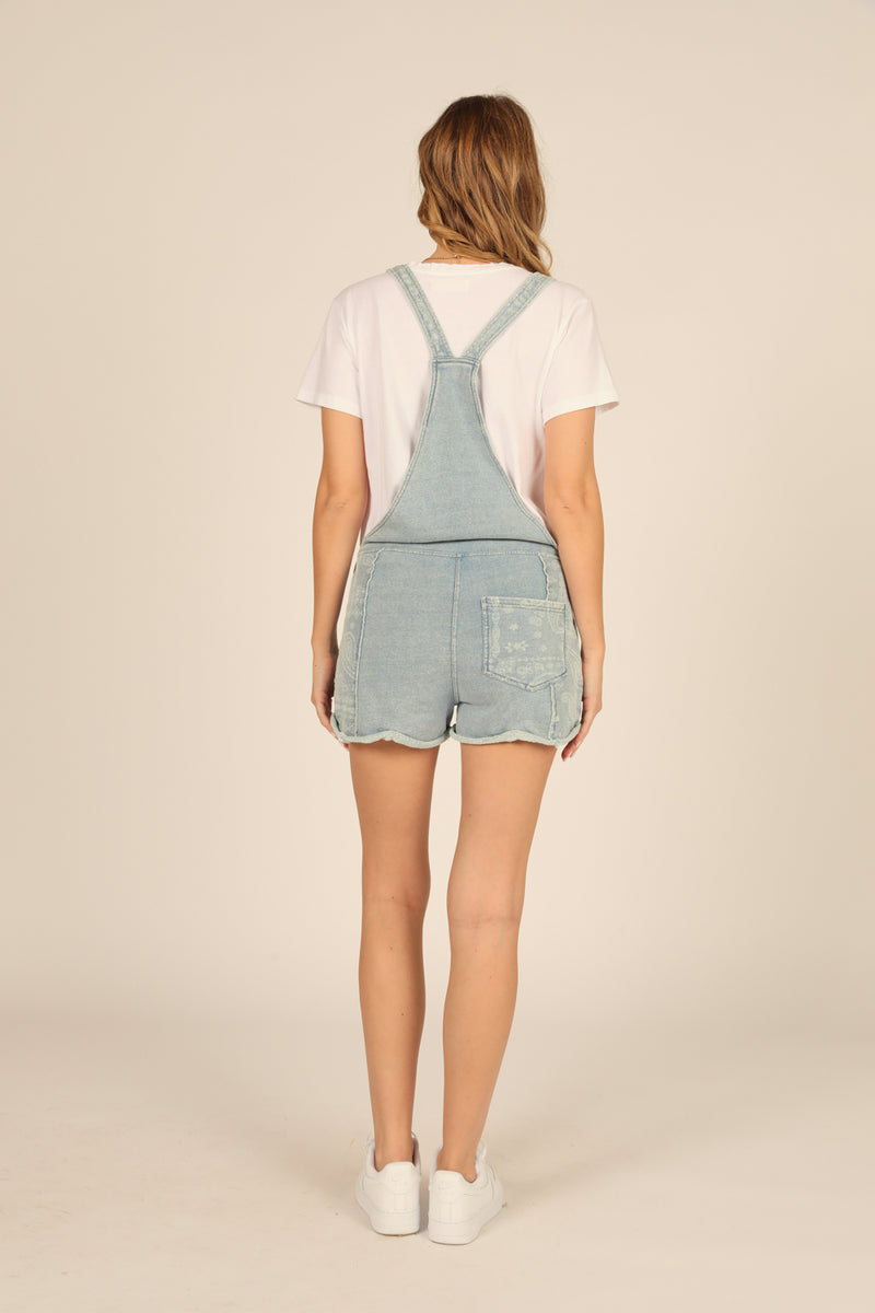 Denim/Heather Bandana Shortall