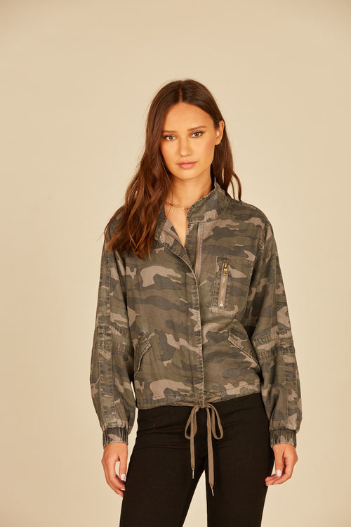 Field Camo Bomber Jacket