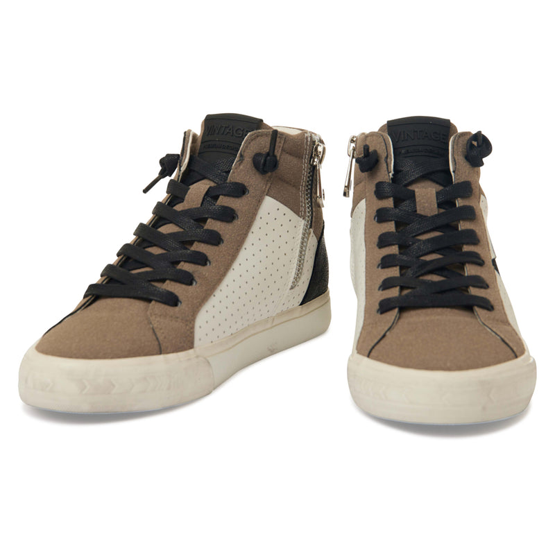 LESTER - BLACK/TAUPE