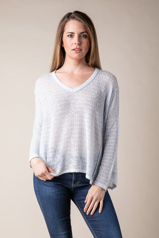 Burnout Surplice Top
