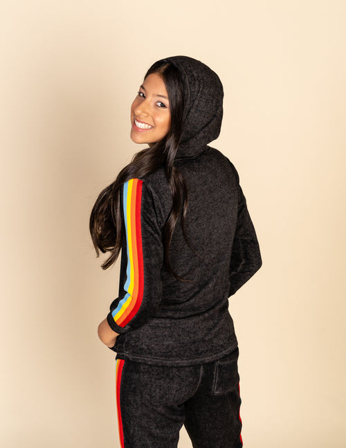 Retro Stripe Hoody