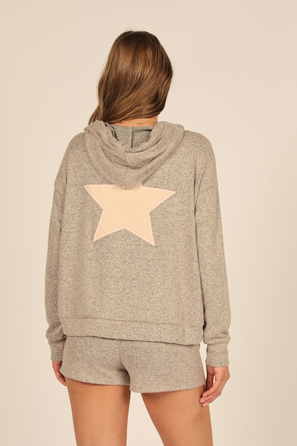Star Patch Hoodie