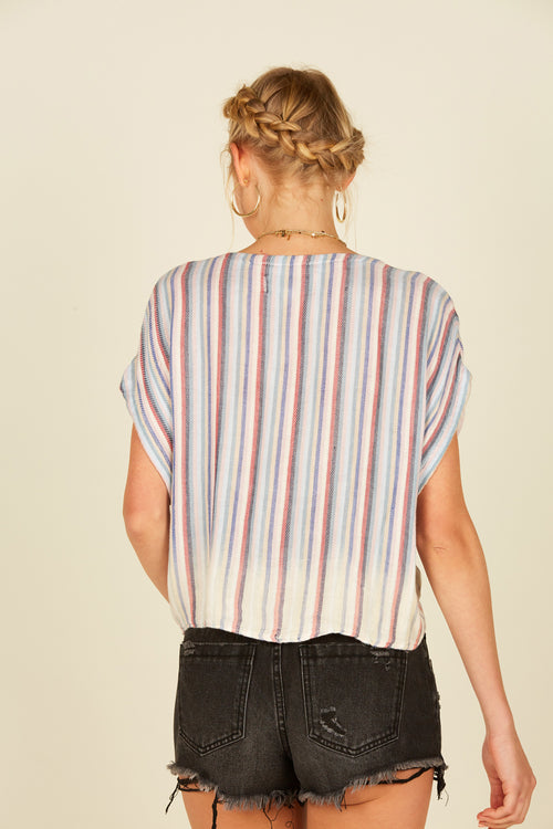 Summer Multi Stripe Shirt