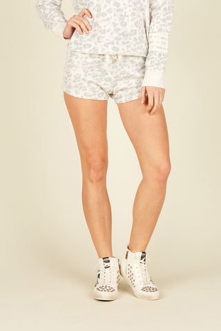 Combat Camo Burnout Shorts W/ Stripe