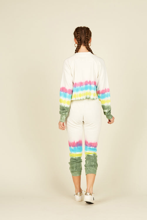 Vintage Multi Color Tie Dye Jogger