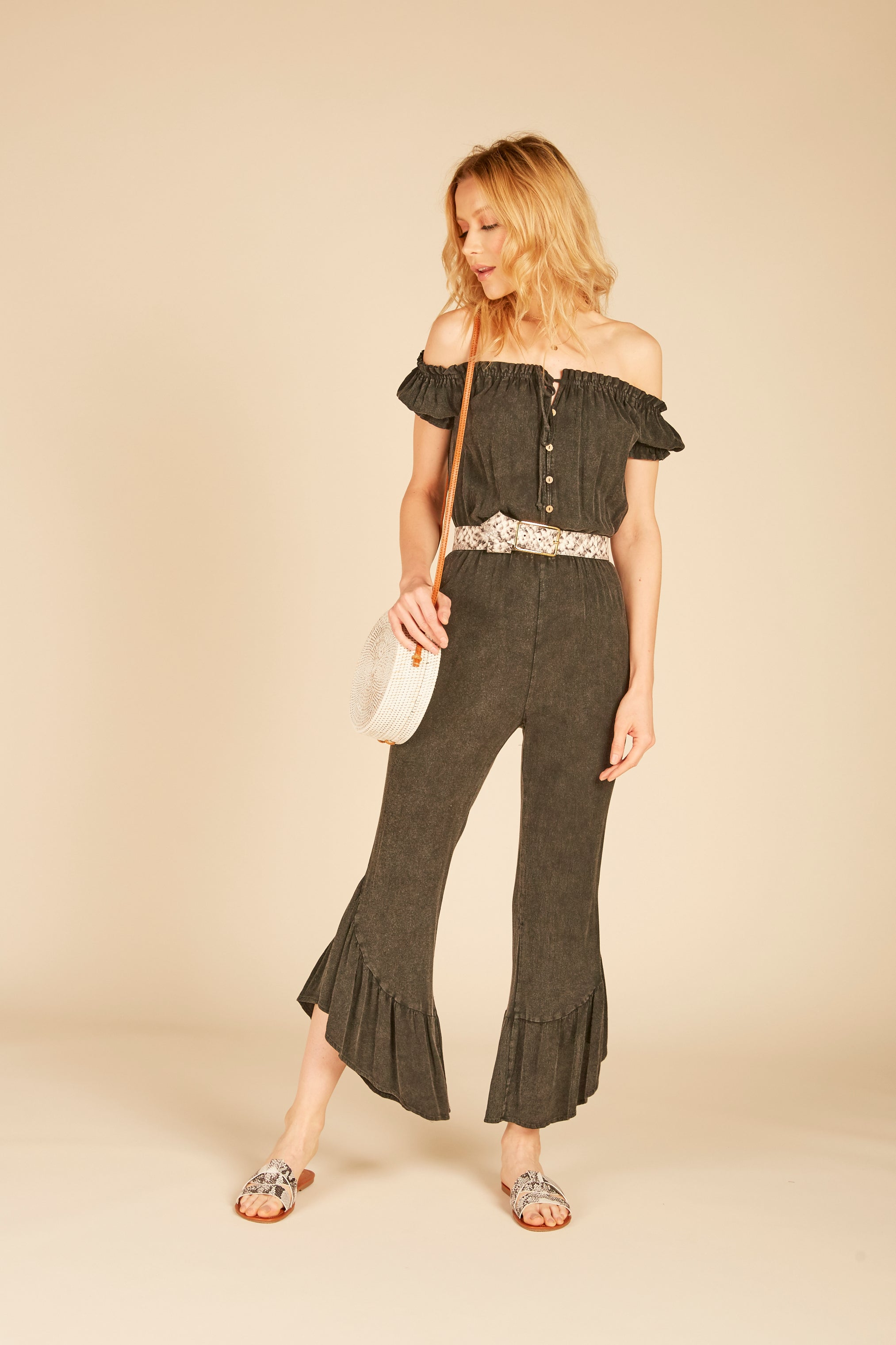 Ruffled Gaucho Jumper