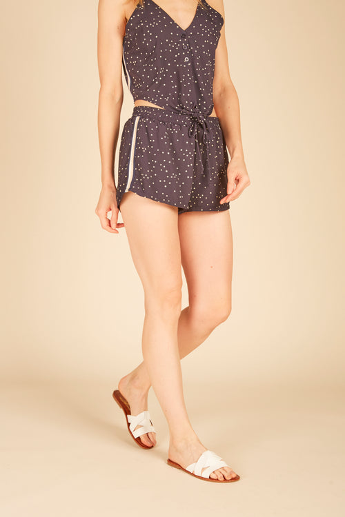 Navy Mini Stars Shorts
