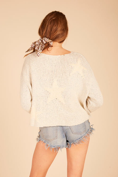 Heathered Stars Sweater