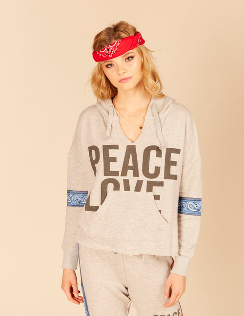 Bandana Patch Pullover Hoody
