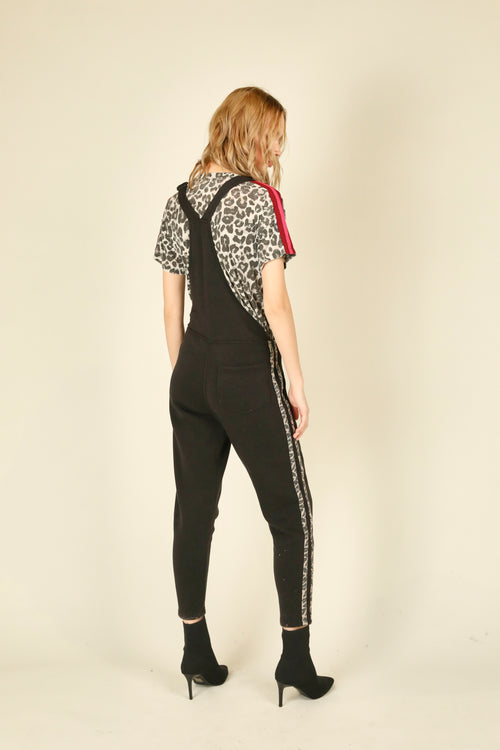 Leopard Overall Jumpsuit