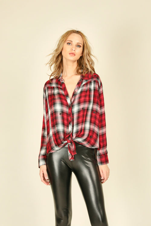 Hailey Plaid Shirt