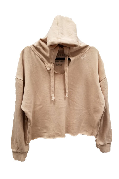 "WREN AND GLORY X VH - NEW BURNOUT ""ANTI-SOCIAL"" SIDE ZIP HOODY"