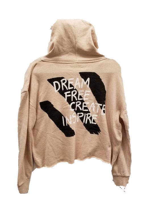 "WREN AND GLORY X VH - NEW BURNOUT ""DREAM"" HOODIE"