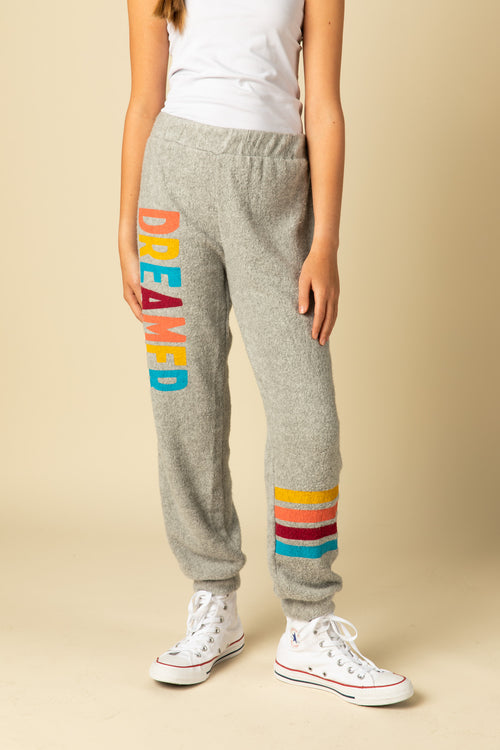 "BRUSHED HACCI ""DREAMER"" JOGGERS"