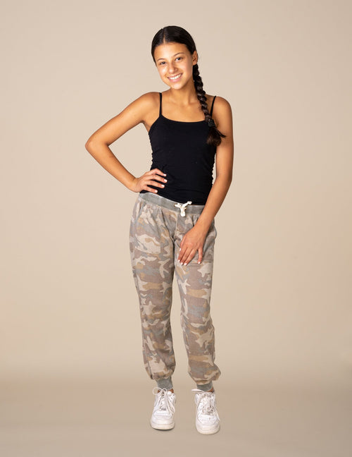 Camo Burnout Sweatpants