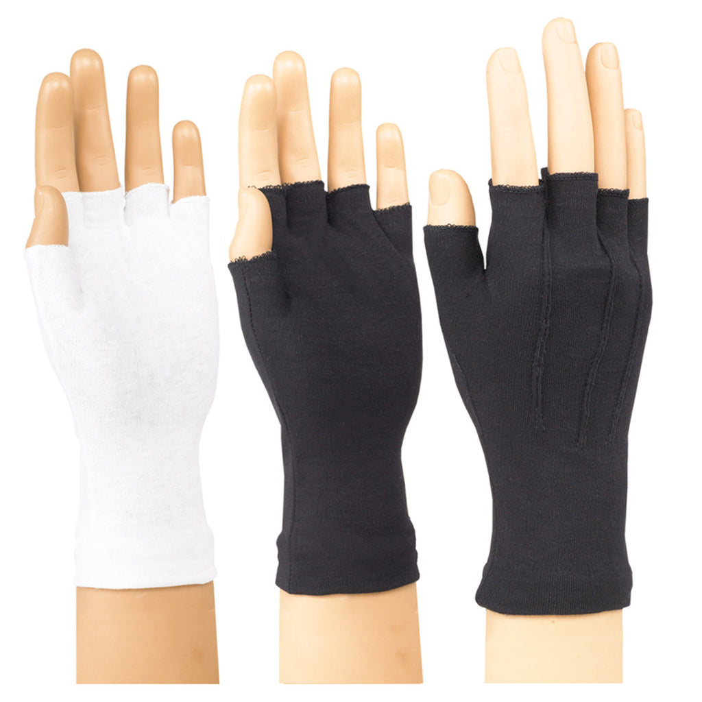 Nylon Half Finger Glove