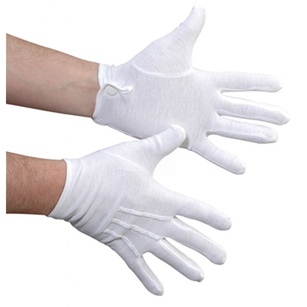 Cotton Snap Gloves