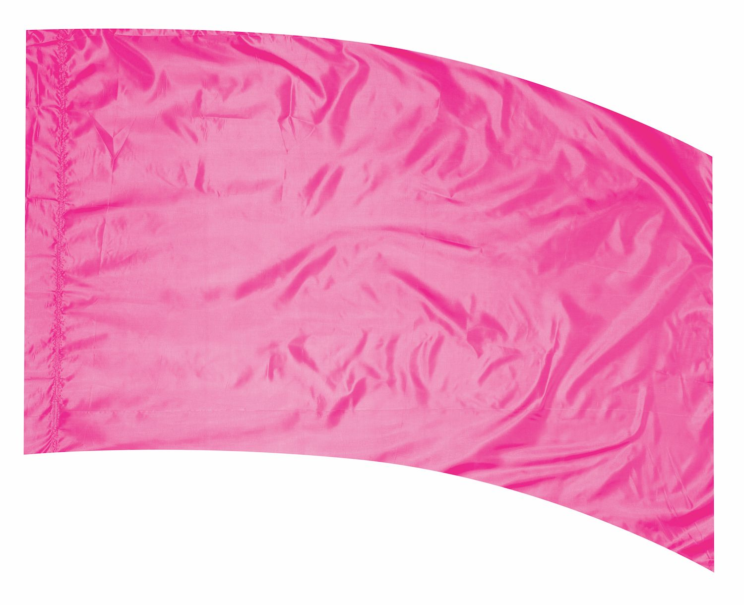PINK Solid Silk Flag