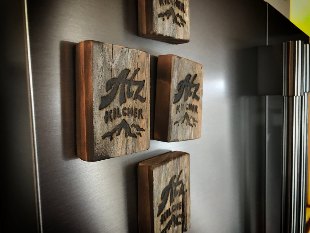 Weathered Wood for Your Fridge