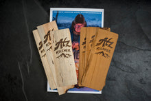 Wooden Bookmark with Atz Kilcher Brand