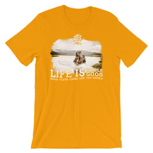 Life is Simple, Life is Good Photo T-Shirt