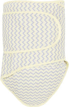 Miracle Blanket Swaddle Wrap for Newborn Infant Baby, Yellow Chevron