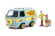 Jada Toys Scooby-Doo Mystery Machine 1:24 Scale die-cast Vehicle with Shaggy & Scooby Figures Model